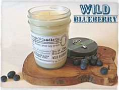 hand poured soy beeswax candle scent No. 64 The Maine Manor | Wild Blueberry handcrafted by House33CandleCo #unlockyourkeyscent #keys #blueberries #fresh #scent #fragrance #etsy #wholesale #hostessgifts