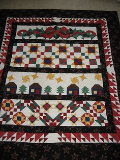 christmas quilts | Christmas Quilts - a gallery on Flickr