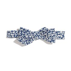 The Hill-side® white flower bow tie at Madewell.