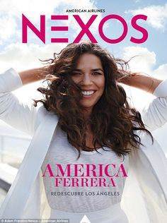 She's a bit of all white: America, whose family hails from Honduras, covered the Spanish-language version of the magazine