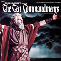 """""""The Ten Commandments"""" (1956, Dot).  Music from the movie soundtrack."""