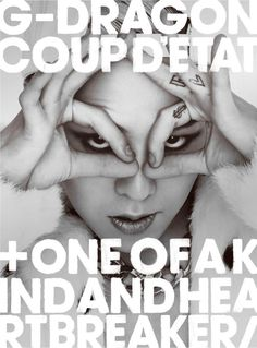 G-DRAGON「COUP D'ETAT [+ ONE OF A KIND & HEARTBREAKER]」CD+DVD盤ジャケット
