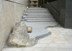MLS,Inc.--Mitani Landscape Studio-- Landscape Stairs, Landscape Architecture Design, Amazing Architecture, Interior Architecture, Japanese Garden Design, Chinese Garden, Stone Pavement, Japan Garden, Garden Stones