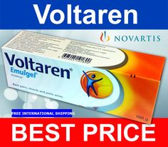 100gr VOLTAREN EMULGEL Back Pain Relief Gel Muscle and Joints 100gr Diclofenac #VOLTARENEMULGEL