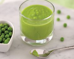 Pea, Edamame, and Apple Puree: Homemade baby food recipes from Baby Love