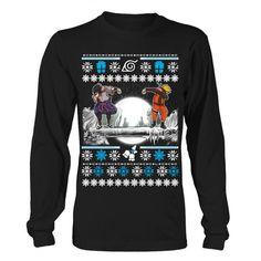 Naruto - SASUKE DAB UGLY CHRISTMAS SWEATER - Unisex Long Sleeve T Shirt