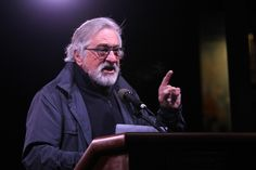 MORE CELEBRITY BULLSHIT: Robert De Niro and Michael Moore led dozens of celebrities in an anti-Trump protest in New York on the eve of the inauguration. None of these unqualified libtard assholes gets it. Hey, kids -- the election was NOT for President of the United States of California and New York. FYI, 37 of 50 states chose Trump whether you like the outcome or not. Suck it up, put on your big-boy undies, and remember that you're supposed to be Americans first.