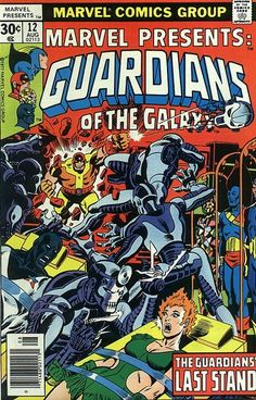 Guardians of the Galaxy  -  Marvel Presents # 12 by Al Milgrom ... °°