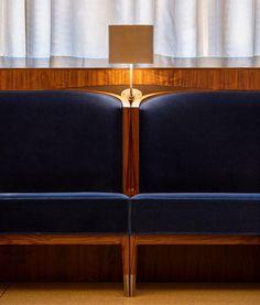 Banquette seating restaurant interiors new york 20 Ideas