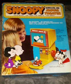 Let's all go to the movies! Find Snoopy and Peanuts toys for sale at SnoopyList.com, the Peanuts classified ad listing site.