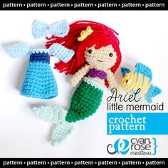 Ariel, crochet with dress