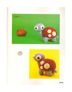 ISSUU - Tiny Yarn Animals by Nicole witchy