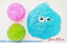 I am sharing today a tutorial that your kiddos will love. We { Mimi and I } are showing you how to make Slime in just four simple steps. Well, not just slime bu Kids Crafts, Summer Crafts For Kids, Projects For Kids, Diy For Kids, Craft Projects, Arts And Crafts, Summer Fun, Indoor Activities For Kids, Fun Activities