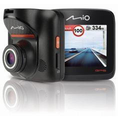 MiVue 568 posiada wbudowany odbiornik GPS, który umożliwi Ci śledzenie przejechanych tras - rejestrowanie obrazu, kierunku, prędkości i współrzędnych geograficznych, a następnie synchronizowanie ich z Google Maps. Dodatkowo został on wyposażony w obrotowy uchwyt pozwalający ustawić kamerę w dowolnym kierunku.