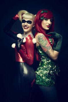 poison ivy harley quinn cosplay - Pesquisa Google