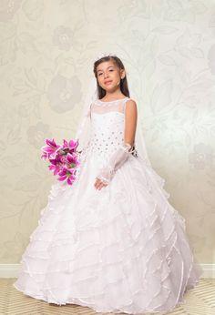 df3587993 Las 77 mejores imágenes de vestidos de primera comunion