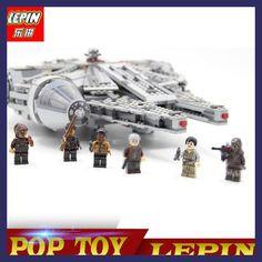 LEPIN 05007 New Star Set Wars Millennium Falcon Toys Educational building blocks marvel Kids Toy Compatible legoed 10467