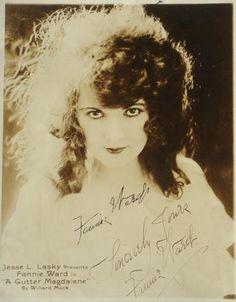 Fannie Ward (1872-1952) 80 ans .