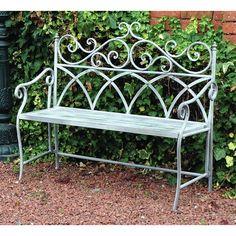 Found it at Wayfair.co.uk - Vintage 2 Seater Iron Bench