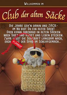 Herzlichengluckwunsch Geburtstag Humor Puppkes Glucksbringer Spruche Postkarte Deko