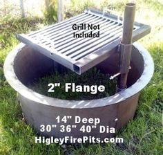 All Sizes Of Fire Pit Rings 12 Quot 14 Quot 16 Quot Deep And Any