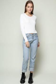 Brandy ♥ Melville | Breanne Top - Clothing
