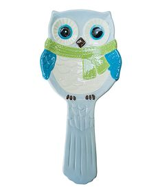 Another great find on Owl Spoon Rest by Boston Warehouse Owl Kitchen, Kitchen Ideas, Owl Home Decor, Owl Art, Cute Owl, Owl House, Spoon Rest, Friends In Love, Whimsical