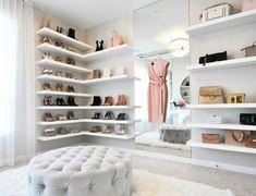 - the washington post vanity room, closet vanity, closet shoe shelves, bout Shoe Shelf In Closet, Closet Vanity, Vanity Room, Shoe Room, Shoe Wall, Closet Bedroom, Bedroom Decor, Wardrobe Room, Closet Space