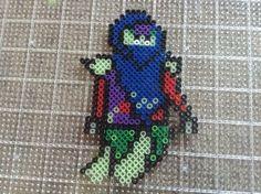 Ninjago ghost perler bead