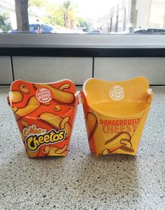 We immediately ordered two boxes, which cost $2.49 for a pack of 5, and we teared up at the beautiful-ass packaging. | We Tried The New Mac N' Cheetos From Burger King So You Don't Have To