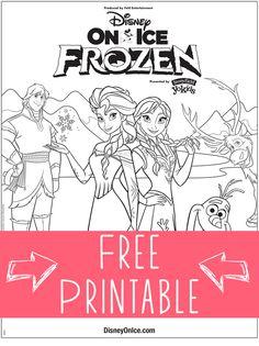 Ana De Frozen Un Dibujo Para Colorear A Disney Frozen