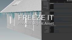 Freeze It | Houdini Digital Asset (.otl file) on Vimeo