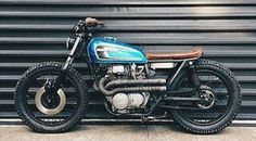 Honda CB360. NZ's Kidsoncrack Motorcycles