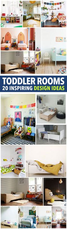 20 Inspiring Toddler Room Designs - Home Decor Interior Design - Kids Rooms