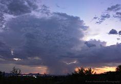 Monsoon Storm in Tucson Arizona