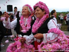 The Festival of the Rose takes place every year in the beginning of June in Kazanlak since 1903 to celebrate the rose blossoming season.