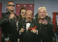 WWF / WWE - Wrestlemania 7: The Nasty Boys gets nasty with Mean Gene and Jimmy Hart