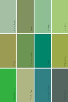 the evolution of #green   @meccinteriors   design bites   #colourtrends #2016colour #2016green