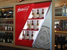 Tailor Made Budweiser na Palhoça do Caranguejo em Salvador.