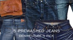 """5 Non-Raw Jeans with Great Wash of the Day""  http://www.denimfuture.com/read-journal/5-non-raw-jeans-with-great-wash-of-the-day"