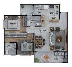 House Layout Plans, Family House Plans, House Layouts, Small Modern House Plans, Beautiful House Plans, Sims 4 House Design, Small House Design, Bungalow Floor Plans, House Floor Plans