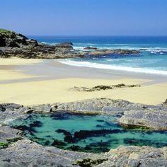 Beaches in UK - Treyarnon Rock Pool, Treyarnon Bay Beach, Padstow, Cornwall - Woman And Home