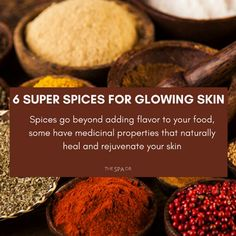 Spices go beyond adding flavor to your food, Here are my 6 favorite spices that can give your beauty routine a boost
