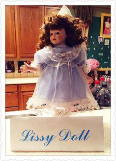 Lissy doll on Matilda