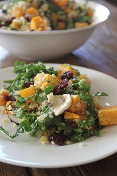 The perfect Thanksgiving dinner side dish!  Quinoa & Roasted Vegetable Salad | Food L'amor by Melissa | #glutenfree #paleo #cleaneating #healthyrecipes