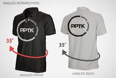 Prepress Toolkits ingenious angled perspective ghosted polo shirt templates