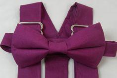 Popular Wedding Colors, Fall Wedding Colors, Spring Wedding, Groomsmen Suspenders, Suspenders For Boys, Wedding Suspenders, Raspberry Wedding, Custom Made Shirts, Free Fabric Samples