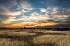 """""""Sunset over Blodgett Reservoir"""" by Tactile Photo"""