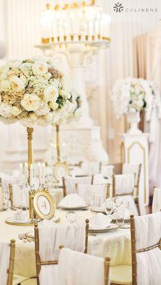 Chiffon Fabric Bolt 58 X 10 Yards White And Ivory Clic Wedding Reception