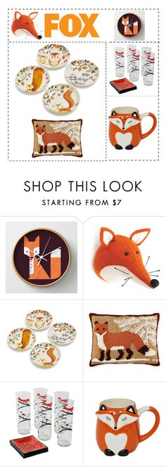 Foxy Home by siriusfunbysheila1954 on Polyvore featuring interior, interiors, interior design, home, home decor, interior decorating, Sur La Table, Fiona Walker, Martha Stewart and Lori's Shoes